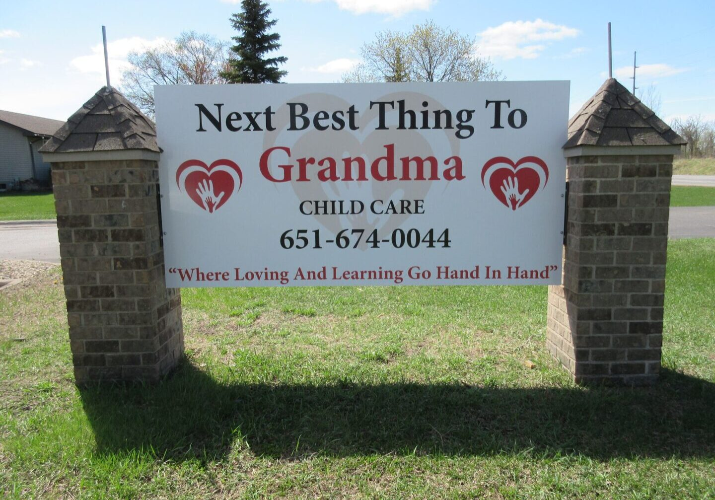 Next Best Thing To Grandma Sign